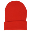 Yupoong 1501 Solid Acrylic-Knit Cuffed Cap