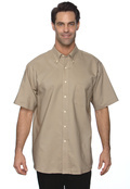 Van Heusen 56850 Men's Short Sleeve Wrinkle Free Oxford
