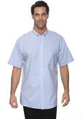 Van Heusen 56850 Men's Short Sleeve Wrinkle Free Oxford