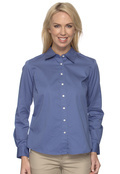 Chestnut Hill CH500W Women's Long Sleeve 32 Singles Twill
