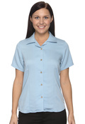 Harriton M570W Women's Bahama Cord Camp Shirt