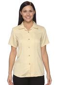 Harriton M570W Women's Bahama Cord Camp Shirt