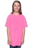 Authentic Pigment 1969Y Youth 5.6 oz. Pigment-Dyed & Direct-Dyed Ringspun Cotton T-Shirt