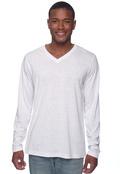 Bella+Canvas 3425 Men's Triblend Long-Sleeve V-Neck T-Shirt