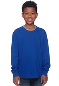 Fruit of the Loom 4930B Youth 5 oz. 100% Heavy Cotton HD Long-Sleeve T-Shirt
