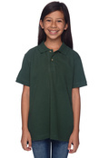 Harriton M200Y Youth Cotton Pique Polo