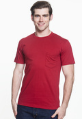 Anvil 783AN Heavyweight Ringspun Pocket T-Shirt