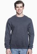 Jerzees 562 Adult 50/50  Nublend Fleece 8oz Crew Sweatshirt