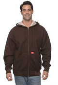 Dickies TW385 Adult Thermal Lined-Knit Hooded Jacket