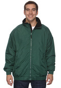 Harriton M740 Adult Fleeced Lined Nylon Jacket