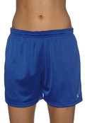 Champion 3393 Women's Active Mesh Short - No Pockets
