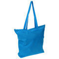 Liberty Bags 8802 Large Tote With Zipper Closure-50% Recycled Polyester