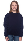 Jerzees 4662B Youth 50/50 Nublendcrew Sweatshirt