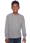 Jerzees 29BL Youth 50/50 Heavyweight Blend Long Sleeve T-Shirt