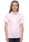 Jerzees 437Y Youth 50/50  Spotshield Jersey Polo