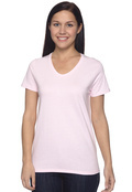 Hanes 5780 Ladies' 5.2 oz. ComfortSoft V-Neck Cotton T-Shirt