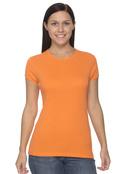Bella+Canvas 1001 Women's Cotton 1x1 Rib Cap Sleeve  T-Shirt