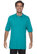 Jerzees 437 Men's 50/50 Jersey Knit Short Sleeve Polo With Spotshield