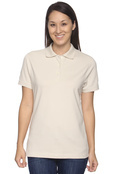 Izod 13Z0063 Women's Silk Wash Pique Polo