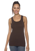 Bella 1080 Women's Cotton 1x1 Baby Rib Wide Straptank Top