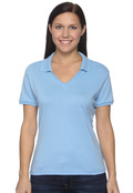 Jerzees 337W Women's 50/50 Jersey Polo Shirt With Spotshield