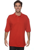 Jerzees 438 Adult 50/50 Spotshield Pique Polo-Short Sleeve