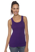 Bella+Canvas 1080 Women's Cotton 1x1 Baby Rib Wide Straptank Top
