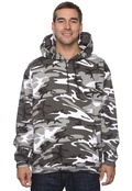 LAT 3969 Adult Camouflage Pullover Hoodie