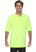 Jerzees 436P Adult 50/50 Jersey Pocket Polo With Spotshield