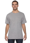 Jerzees 29P Adult Heavyweight 50/50 Blend  Pocket T-Shirt