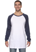 Canvas 3000C Men's Baseball Jersey Raglan T-Shirt