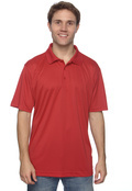 Harriton M315 Men's Polytech Polo 100% Polyester- Hemmed Sleeves