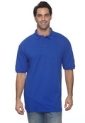 Anvil 6020 Men's Ringspun Cotton Pique Polo