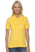 Harriton M200W Women's Short Sleeve Pique Polo