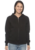 Hanes W280 Women's Full Zip 8oz Fleece Hood