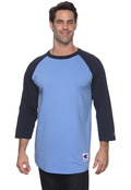 Champion T1397 Adult Tagless Raglan Baseball T-Shirt