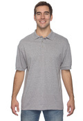 Jerzees J300 Adult 50/50 Blend Jersey Short Sleeve Polo