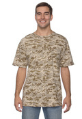 LAT LS3906 Men's Camouflage T-Shirt Code V