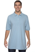 Harriton M100 Men's Ringspun Cotton Pique Polo
