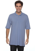 Izod 99299 Men's Silk-Wash Pique Sport Shirt Tail