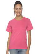 Anvil 641 Women's Scoop Neck Cotton T-Shirt