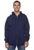 Hanes F280 90/10 Ultimate Cotton 10oz Full Zip Hood Sweatshirt