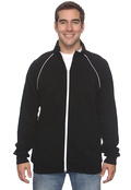 Bella+Canvas 3710 Men's 7.5 oz. La Brea Piped Jacket