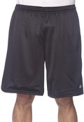 Champion 81622 Men's Long Mesh Shorts - Pockets