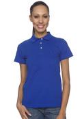 Anvil 8680A Women's Ringspun Cotton Pique Sport Shirt