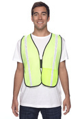 OccuNomix LUXXGT Adult Value Mesh Gloss Vest High Viz
