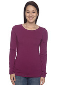 Alo W3004 Ladies' Bamboo Long-Sleeve T-Shirt