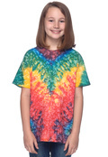 Tie-Dye CD100Y Tie-Dye Youth 5.4 oz., 100% Cotton Tie-Dyed T-Shirt