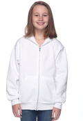 Hanes P480 Youth Comfortblend Printproxp Full Zip Hood