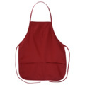 Big Accessories APR51 Two-Pocket 24 Inch Apron